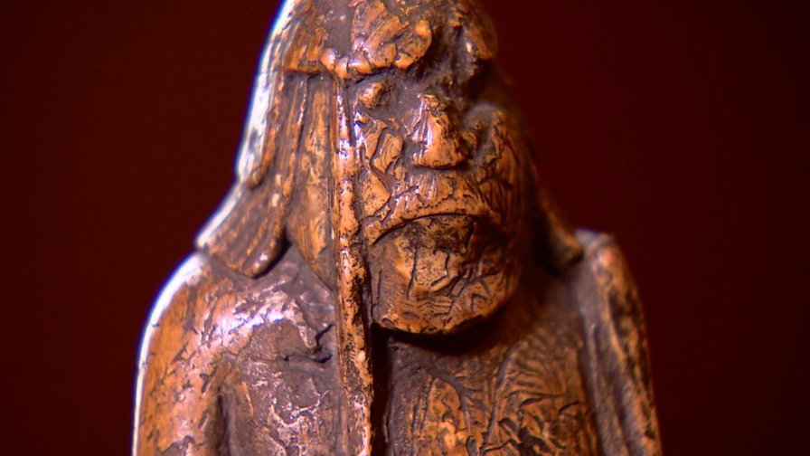 Long-lost Lewis Chessman found in Edinburgh family's drawer