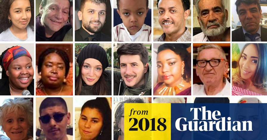 Grenfell: the 71 victims, their lives, loves and losses