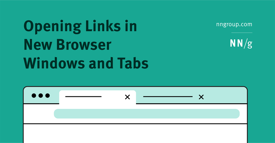 Opening Links in New Browser Windows and Tabs