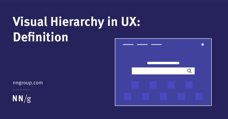 Visual Hierarchy in UX: Definition