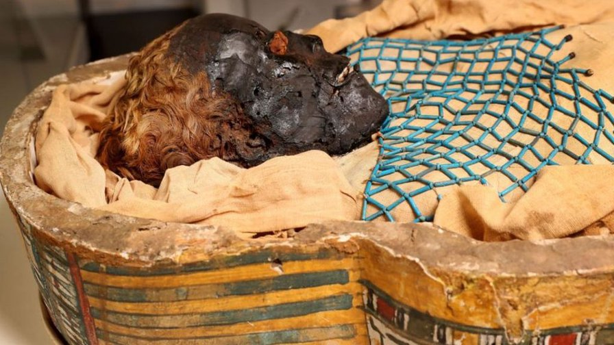 Belfast's Egyptian mummy 'may have died in violent knife attack'