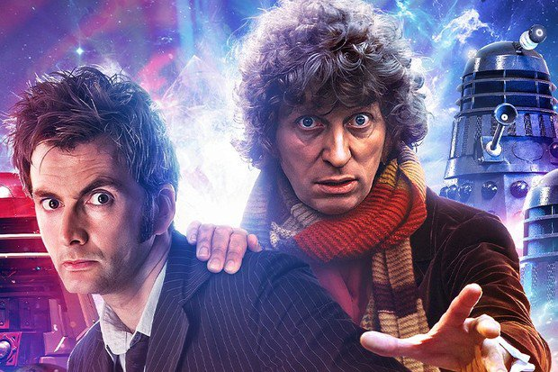 David Tennant and Tom Baker will star together in new Doctor Who story