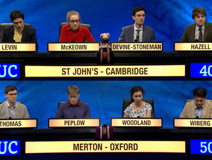 Why University Challenge is deliberately asking more questions about women