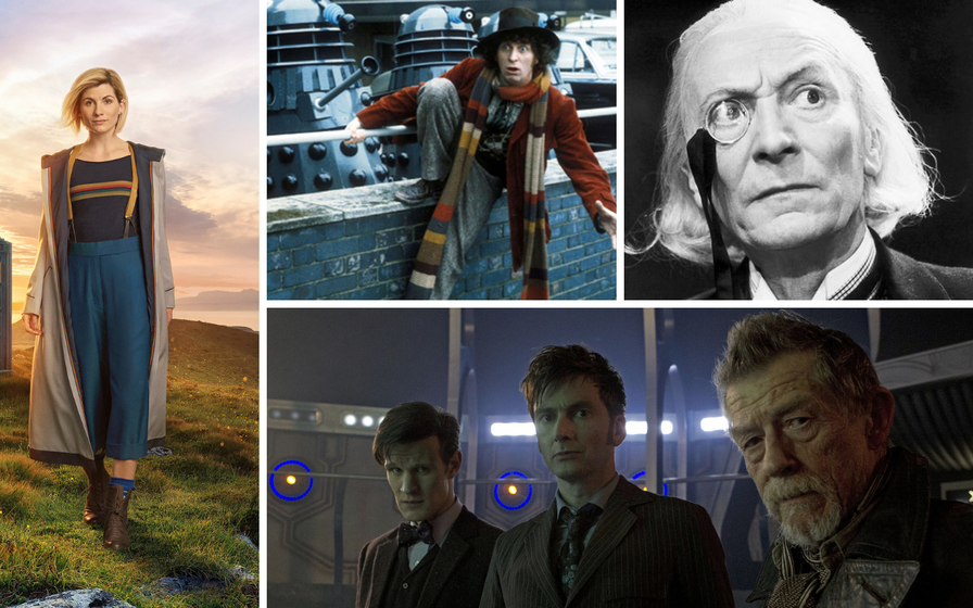 Regeneration game: A look back at every new Doctor Who from 1963 to the present