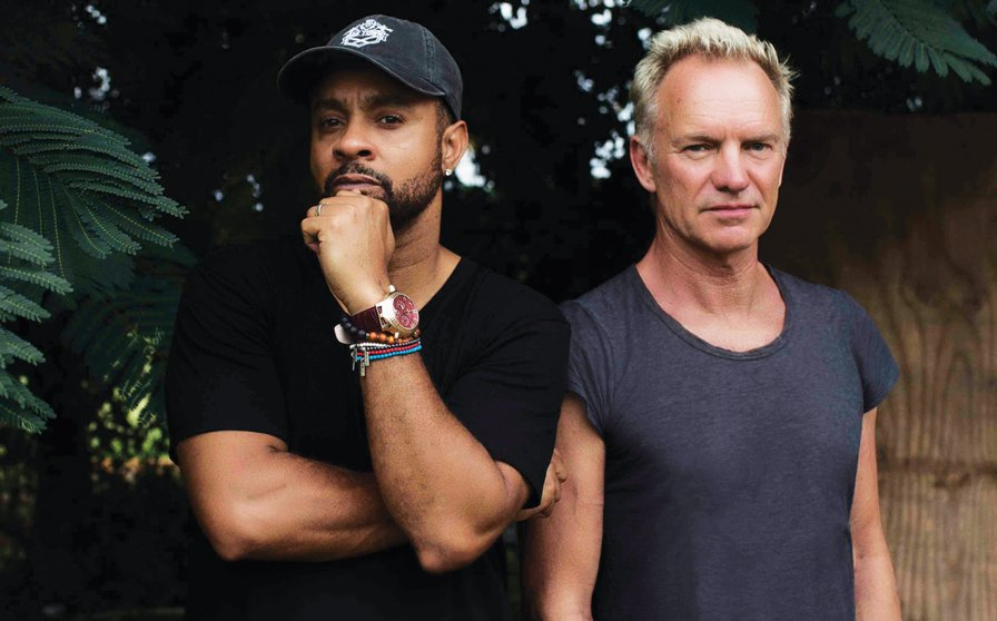 """I call him the Pope of Jamaica"": An encounter with Shaggy and Sting"