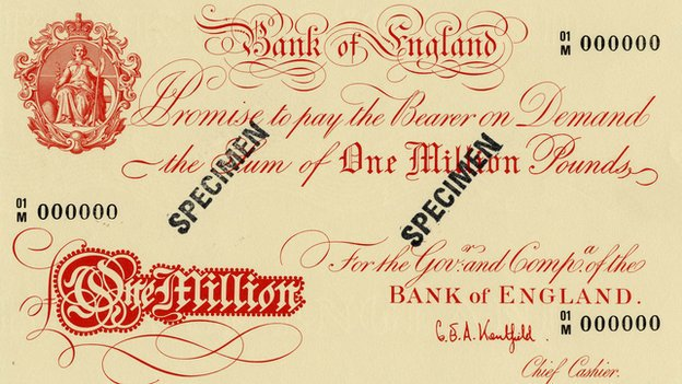 The bizarre story of banknotes in the United Kingdom
