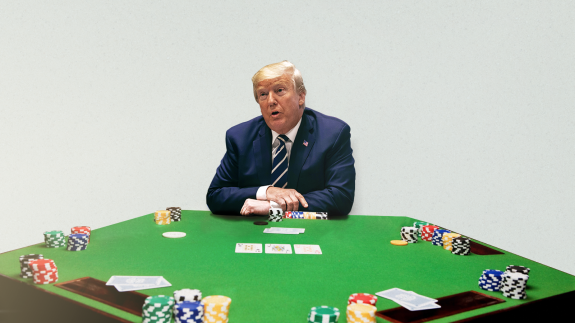 How President Trump Is Like A Terrible Poker Player