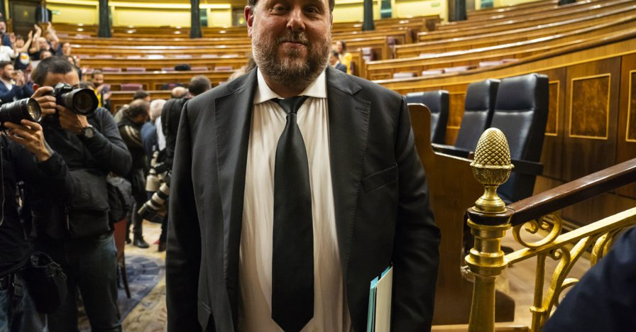 Jailed Catalan MEP elected head of regionalist group in Parliament