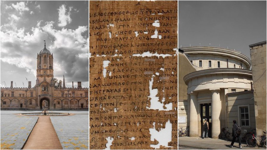 EXCLUSIVE: Christ Church professor arrested over scandal of stolen papyrus